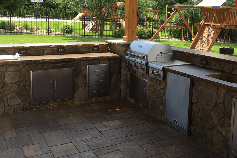 Stupendous Certified Outdoor Kitchen Installer Serving Shelby Kings Download Free Architecture Designs Scobabritishbridgeorg